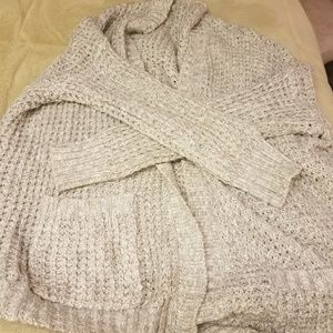 2 over sized sweaters!!
